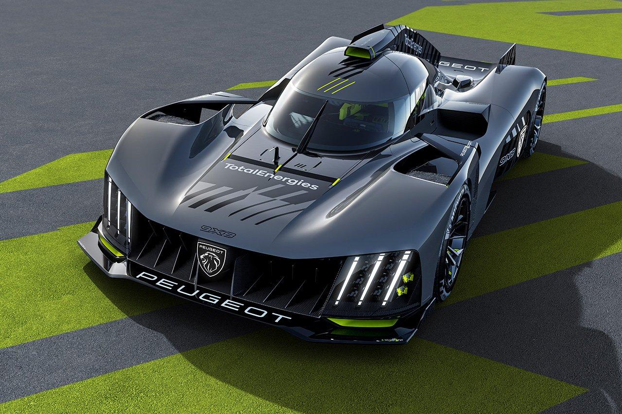 プジョー、2022年のWEC/ル・マン参戦ハイパーカー『9X8』を発表