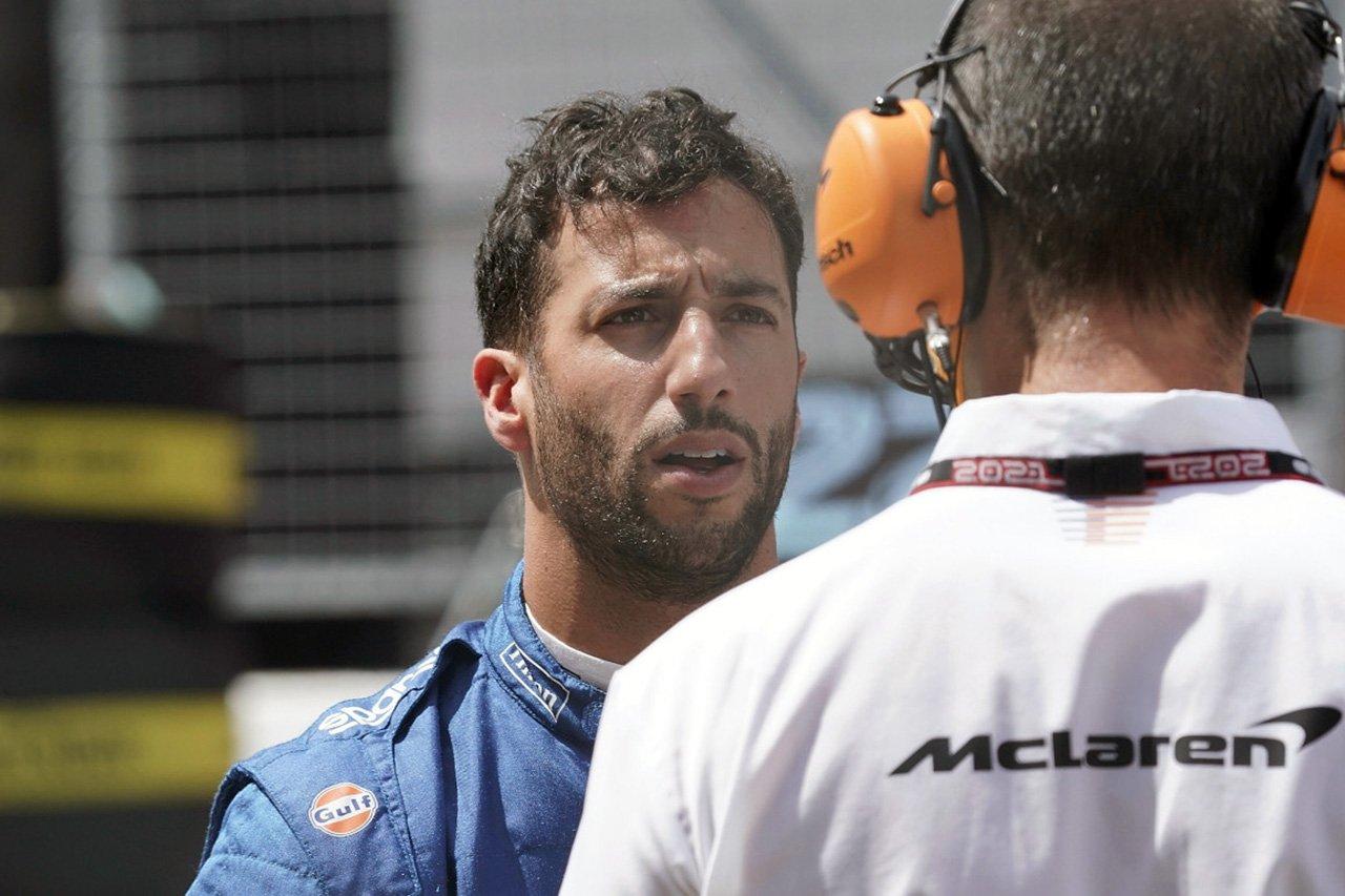 マクラーレンF1代表 「ダニエル・リカルドの順応の遅さに失望している」