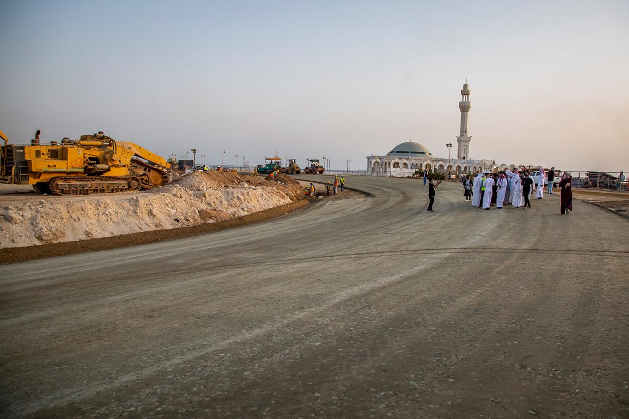 F1サウジアラビアGP:ジェッダ・コーニッシュ・サーキット 最新画像