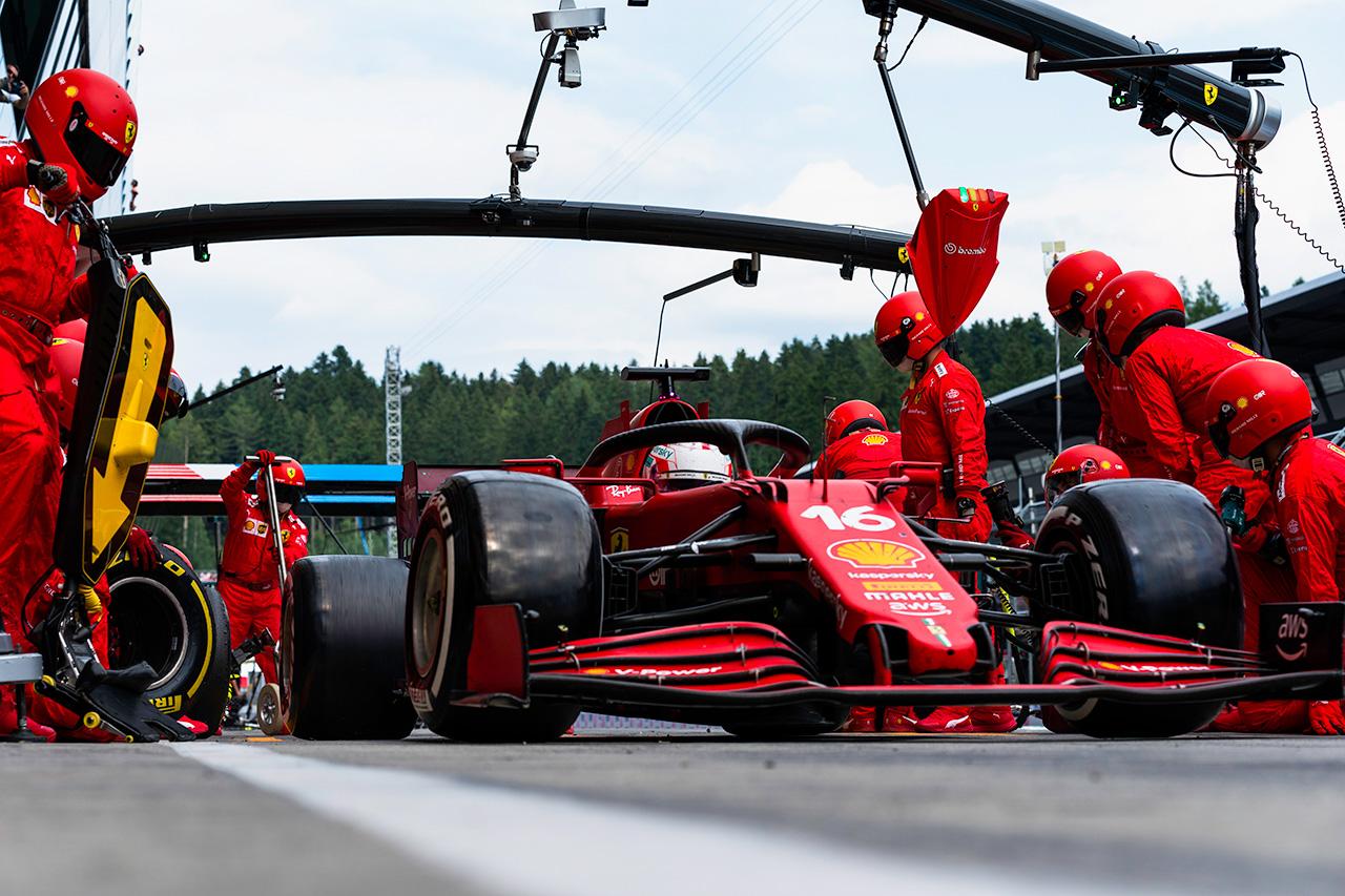 フェラーリF1代表 「金曜パルクフェルメと新構造リアタイヤは混乱必至」 / F1イギリスGP スプリント予選