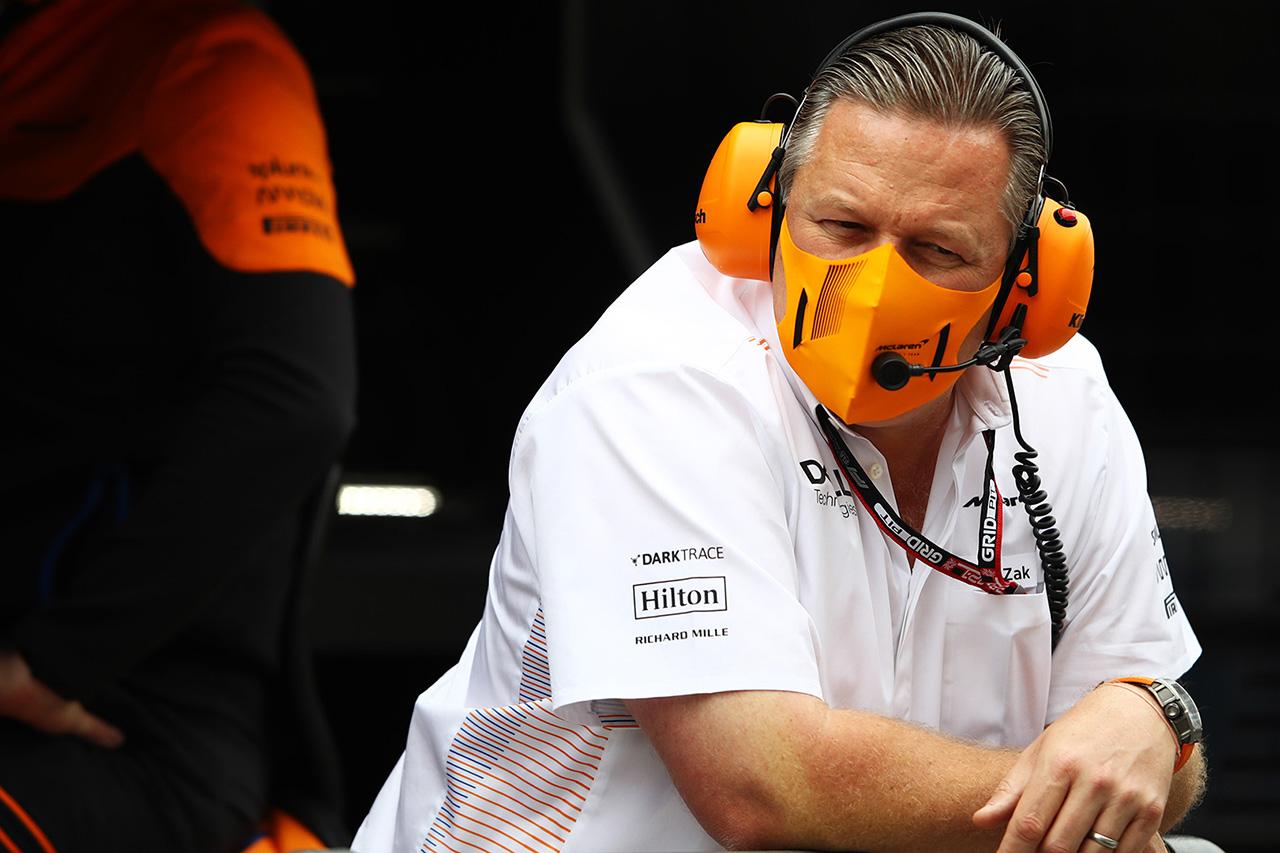 マクラーレンのザク・ブラウン、新型コロナ感染でF1イギリスGPを欠席