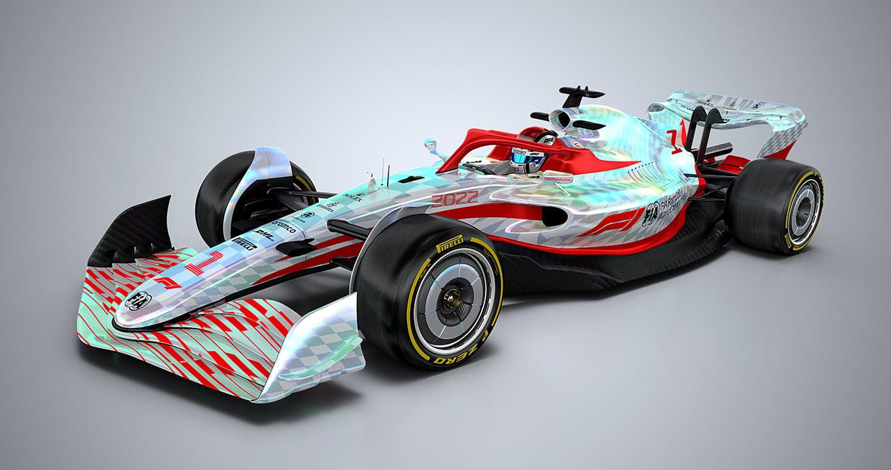 2022年 次世代F1マシン ①