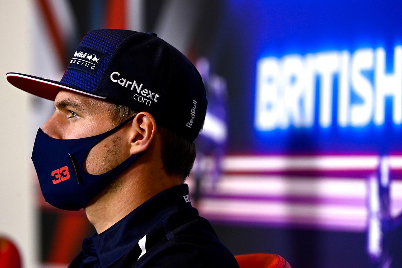 レッドブル・ホンダF1のマックス・フェルスタッペン 「オーストリアのように簡単にはいかない」 / F1イギリスGP 記者会見