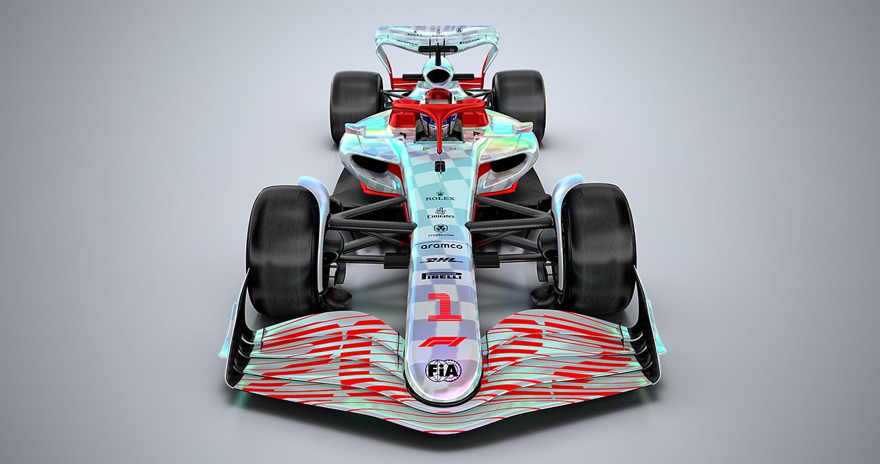 2022年 次世代F1マシン