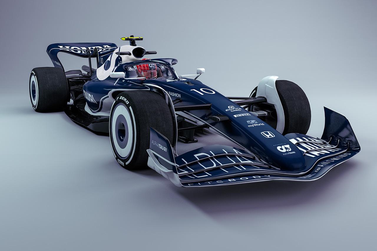 アルファタウリ・ホンダF1のTDが解説する2022年の次世代F1マシン