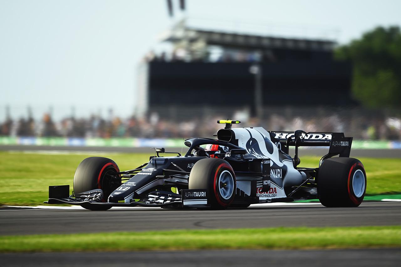 アルファタウリ・ホンダF1 「ソフトタイヤで思った以上に苦戦」 / F1イギリスGP 予選
