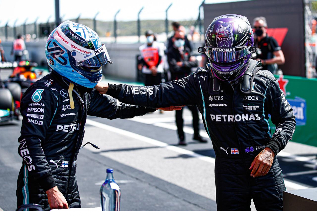 """バルテリ・ボッタス、ハミルトンにトウを与える""""チームプレイ""""に満足 / F1イギリスGP 予選"""