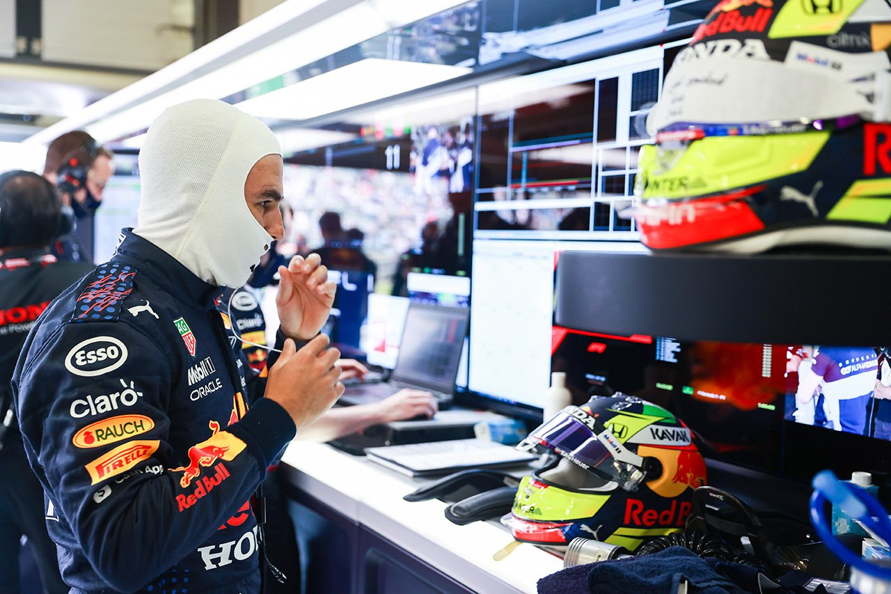 セルジオ・ペレス「ターン15ではみ出してタイムを抹消されたのは残念」 / レッドブル・ホンダ F1イギリスGP 予選