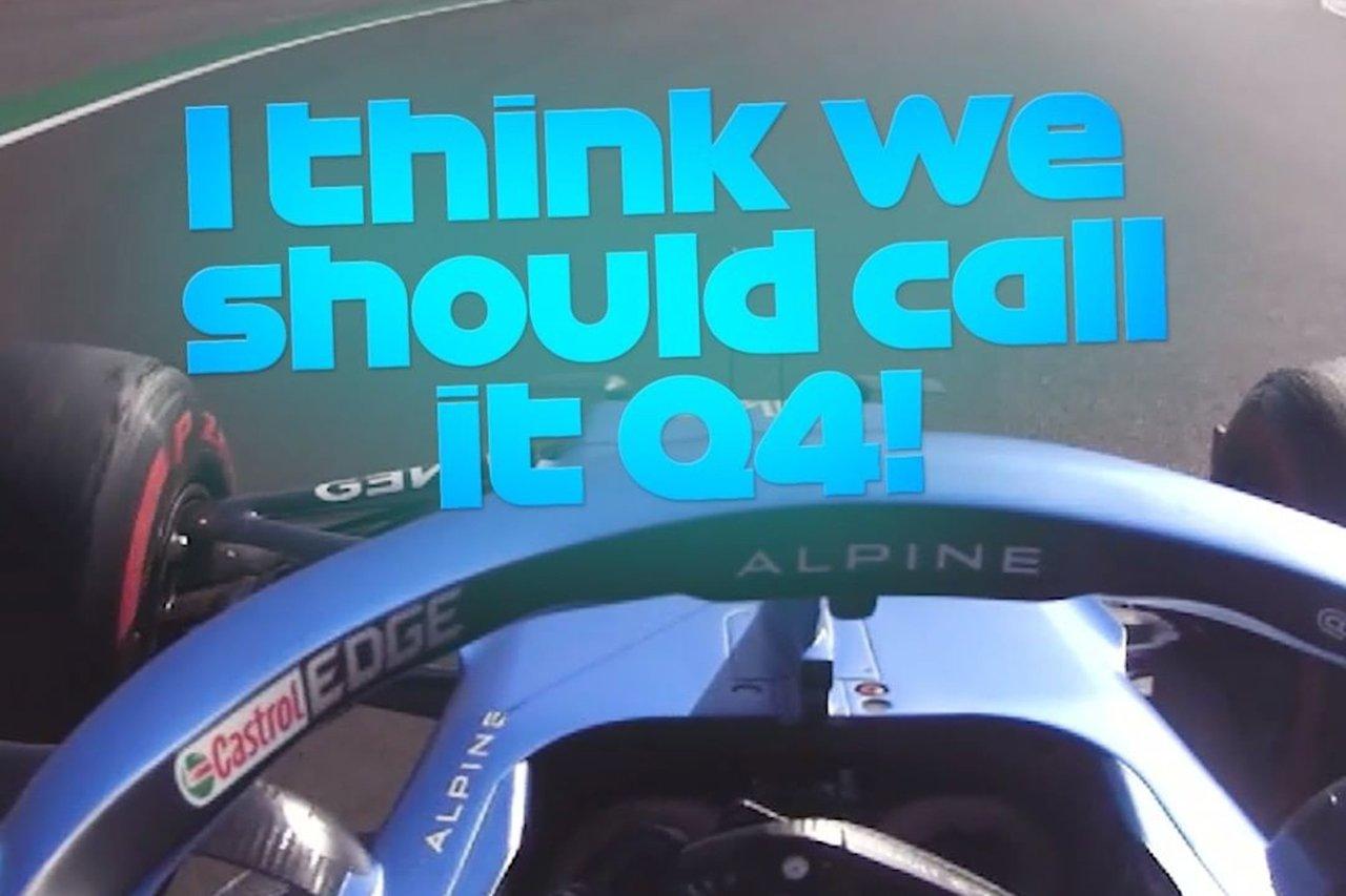 フェルナンド・アロンソ、好レースにご満悦「Q4と呼ぶべき!」 / アルピーヌ F1イギリスGP スプリント予選