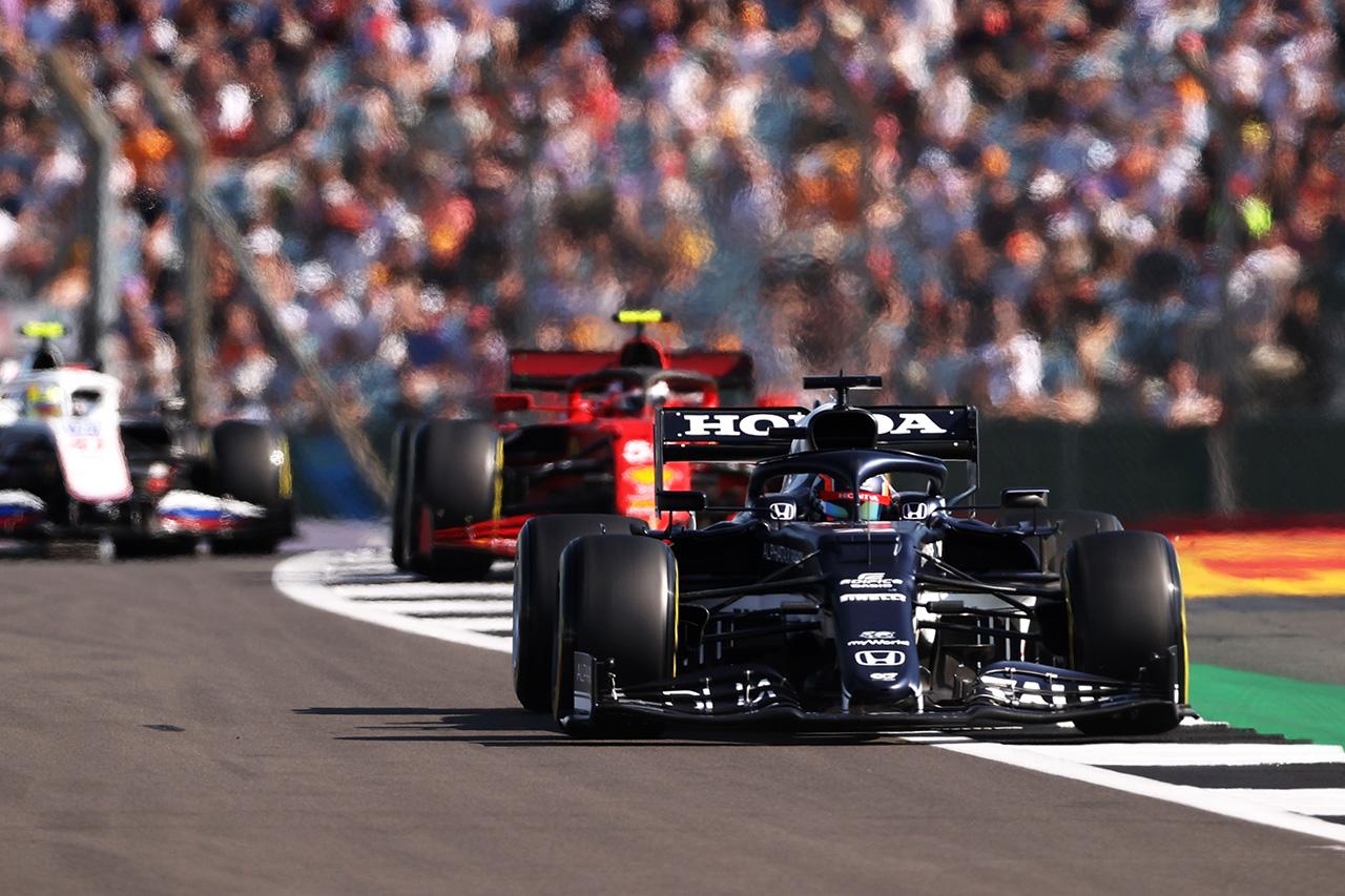 アルファタウリ・ホンダF1 「トレインから抜け出すのは不可能だった」 / F1イギリスGP スプリント予選