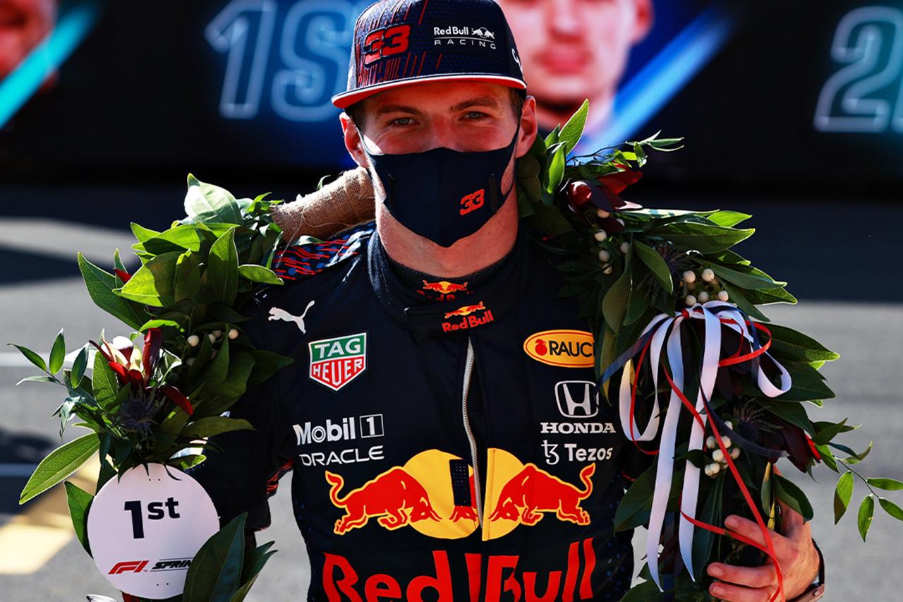 F1イギリスGP スプリント予選:フェルスタッペンが4戦連続ポール獲得