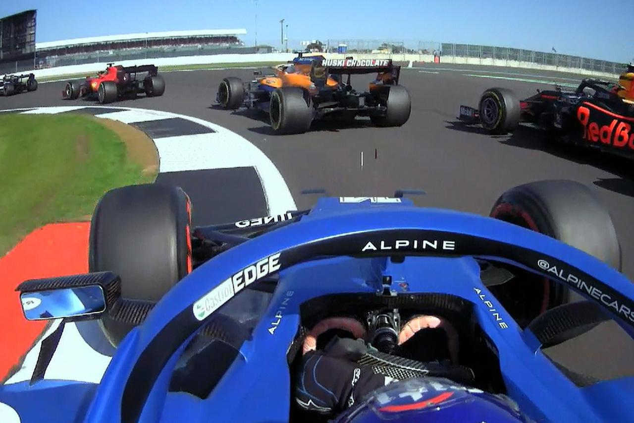 フェルナンド・アロンソ、圧巻のスタート 「リスクを冒す必要があった」 / F1イギリスGP スプリント予選