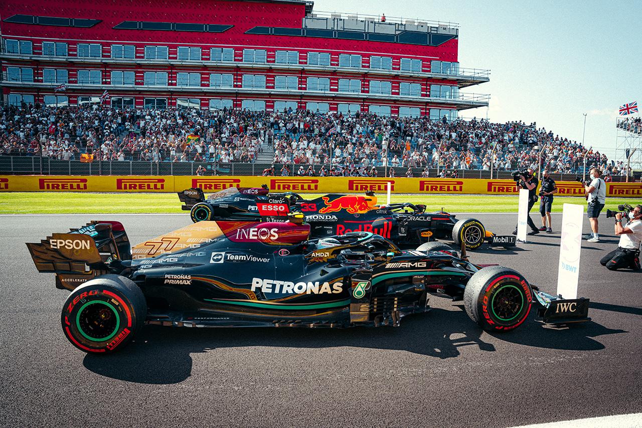 2021年 F1イギリスGP:暫定スターティンググリッド