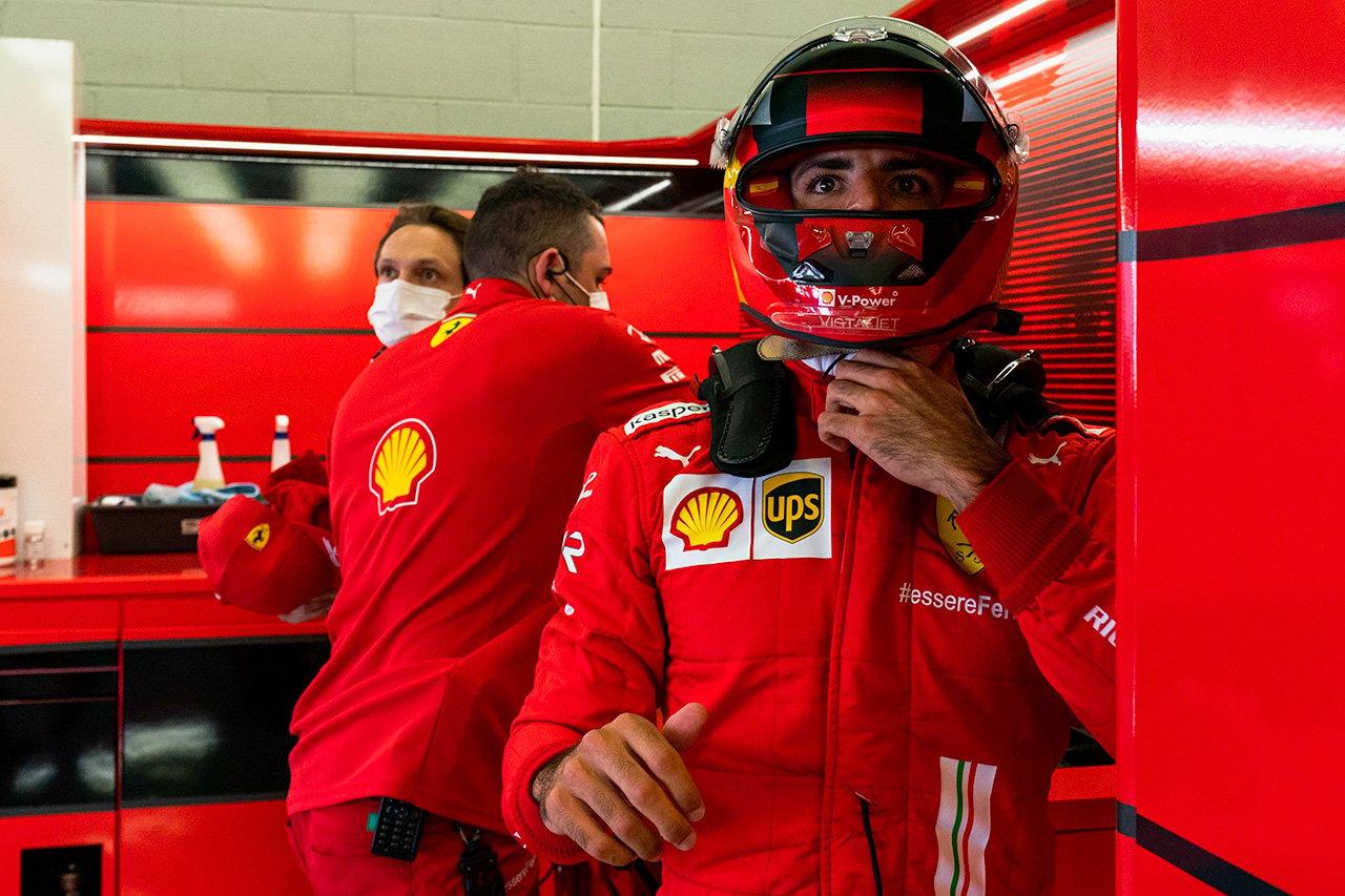 カルロス・サインツ、1周目での接触に 「満足にはほど遠い」 / フェラーリ F1イギリスGP スプリント予選