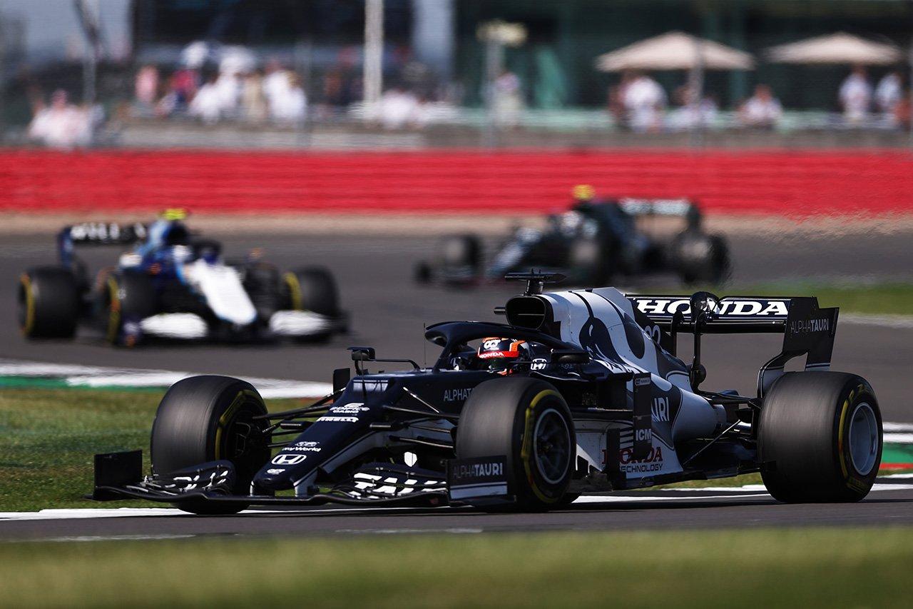 アルファタウリ・ホンダF1 「8位に入れる強さはあったので残念」 / F1イギリスGP 決勝
