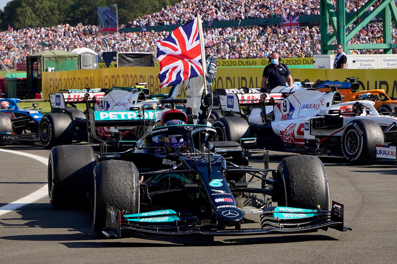 2021年 F1ポイントランキング (第10戦 F1イギリスGP 終了時点)