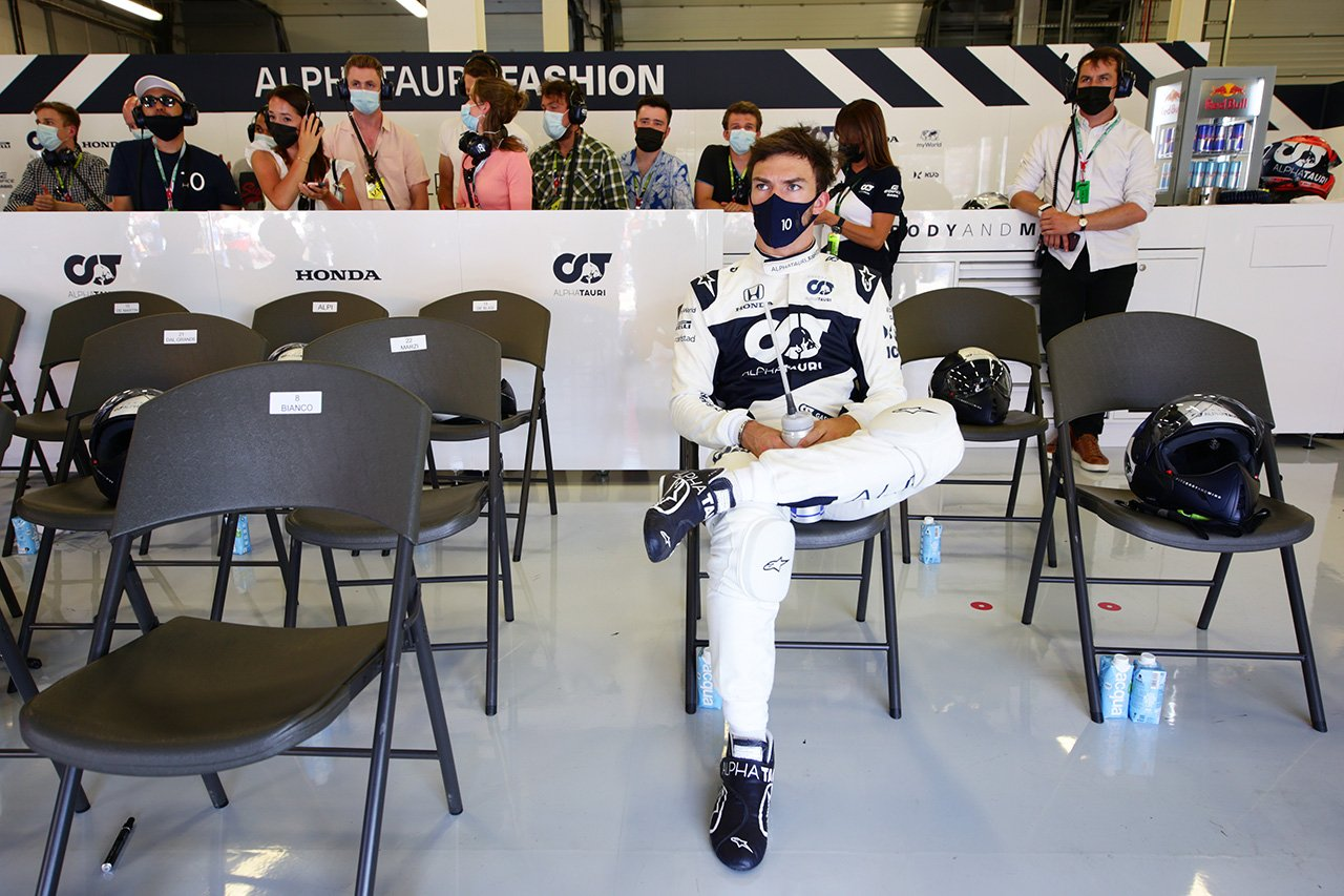 ピエール・ガスリー、不運なパンク「とてもフラストレーションが溜まる」 / アルファタウリ・ホンダ F1イギリスGP 決勝