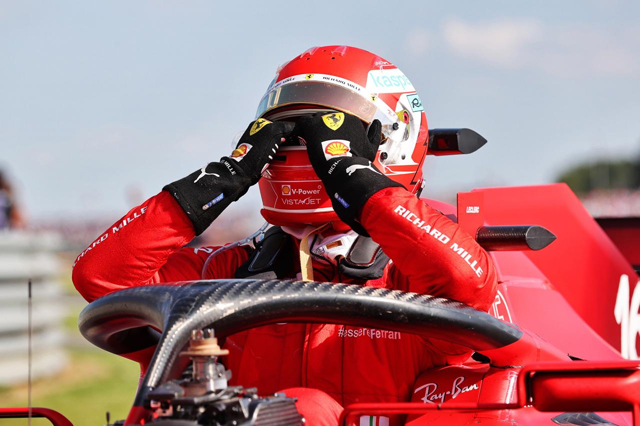 シャルル・ルクレール、今季初優勝を逃し「半分幸せ、半分がっかり」 / F1イギリスGP 決勝