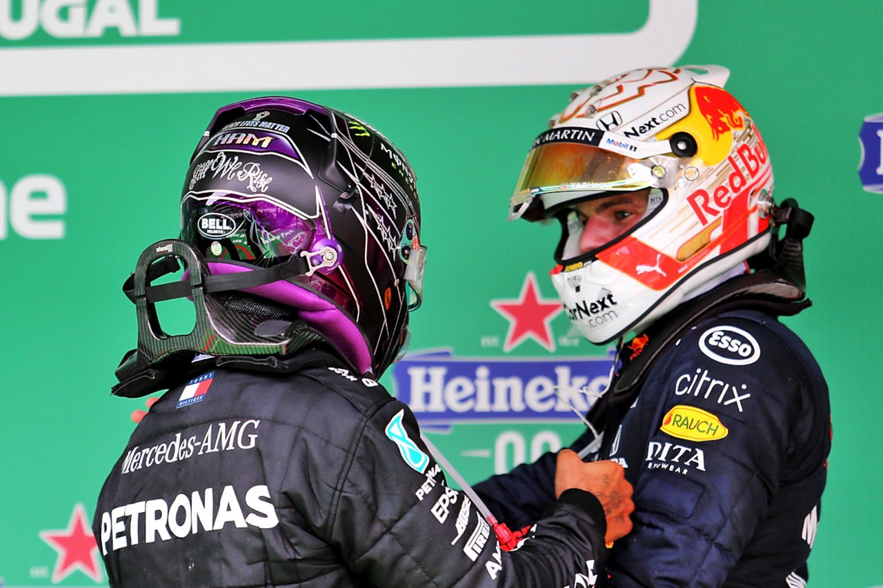 """F1王者ハミルトン、フェルスタッペンに""""スペースとリスペクト""""を要求"""