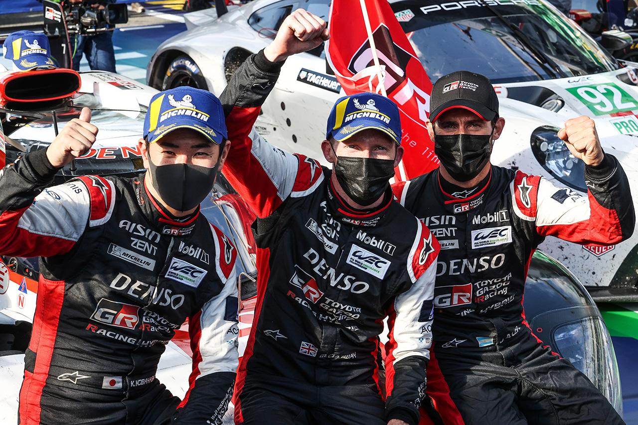 WEC:トヨタ 2021年 第3戦 モンツァ6時間レース 決勝レポート