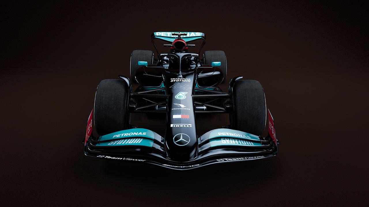 メルセデスF1 2022年 次世代F1マシン