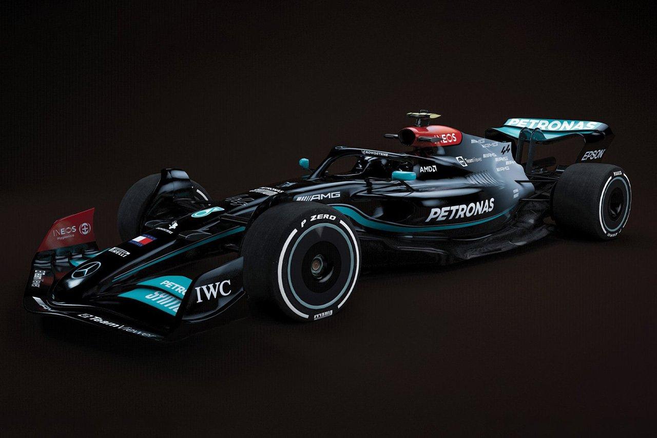 """メルセデスF1 「2022年F1マシンは工場ですでに""""幼児""""に成長している」"""