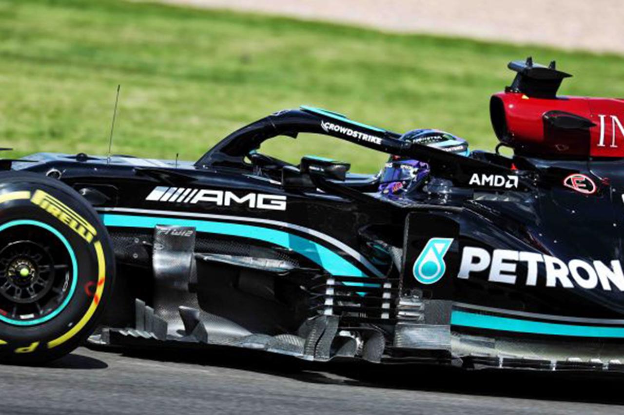 "F1マシン解説:メルセデスF1も取り入れる""ベネチアン・ブラインド"""