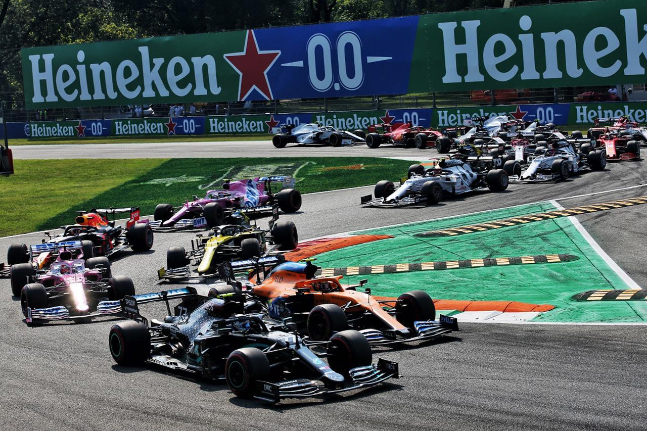 F1イタリアGP、スプリント予選のスケジュールを発表