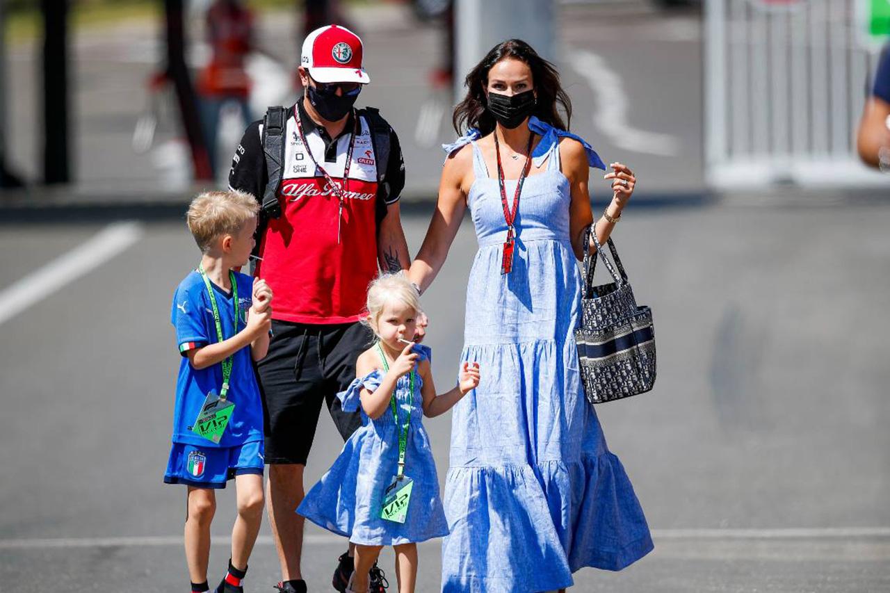 F1:キミ・ライコネン 「息子にモータースポーツを強制することはない」