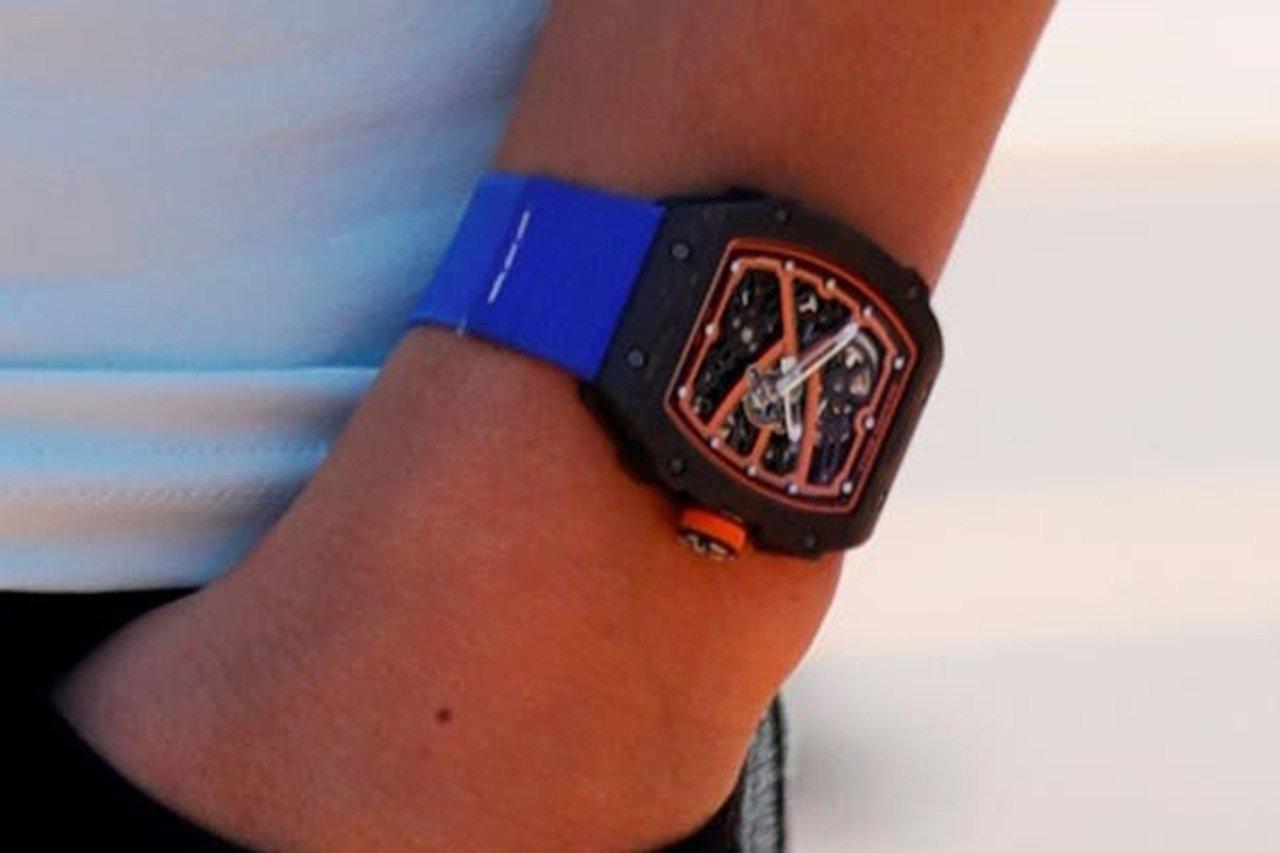 F1:ランド・ノリスが盗まれた時計の画像を警察が公開
