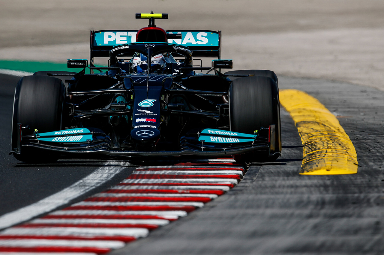 F1ハンガリーGP フリー走行2回目:ボッタス首位でメルセデス1-2! 0.3秒差でフェルスタッペン