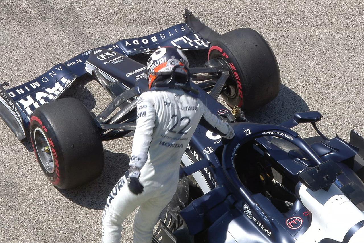 【速報】 F1ハンガリーGP FP1 結果:マックス・フェルスタッペンが首位。角田裕毅はクラッシュ