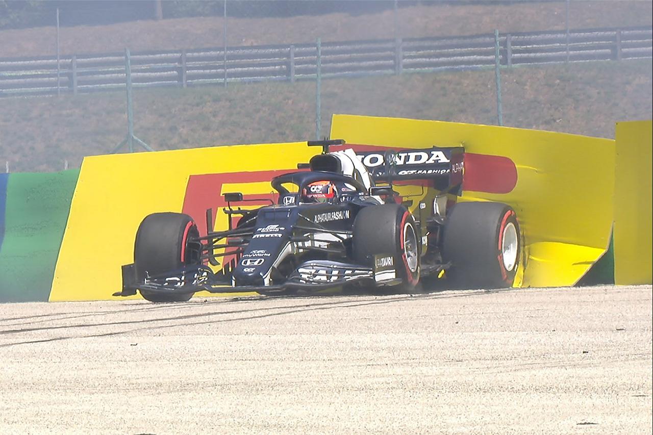 角田裕毅、F1ハンガリーGPのフリー走行1回目でクラッシュ…