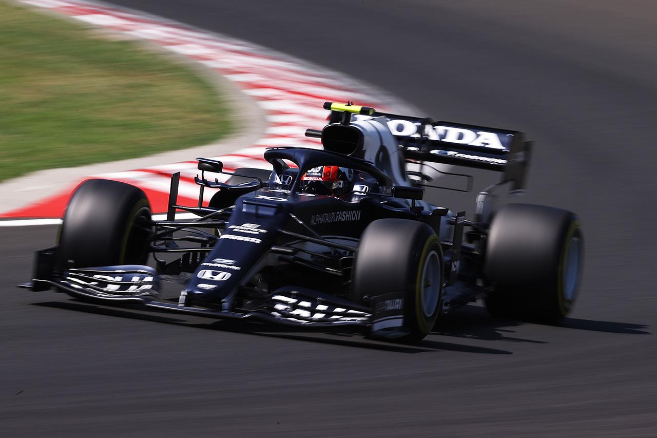 アルファタウリ・ホンダF1 「新しいエアロアップデートをテストした」 / F1ハンガリーGP 金曜フリー走行