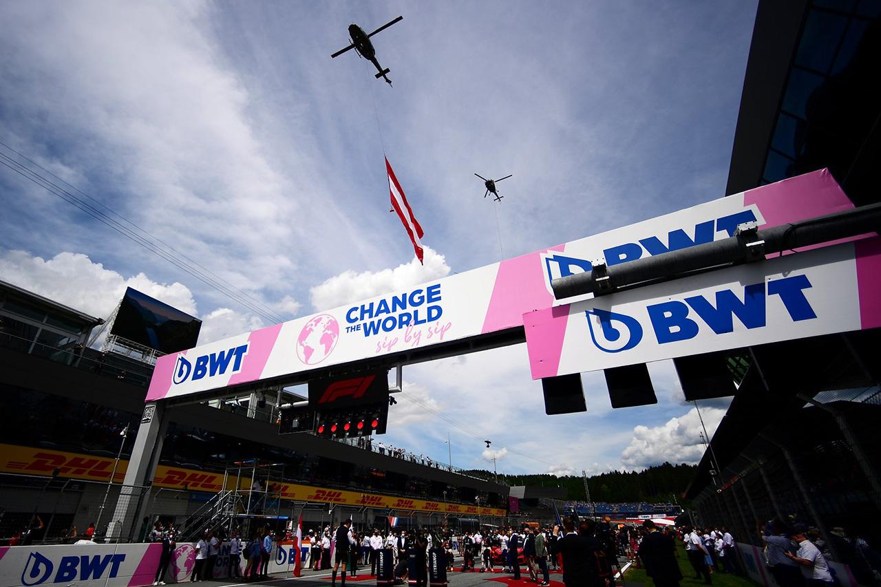 BWT、F1の公式ウォーターテクノロジーパートナーに就任