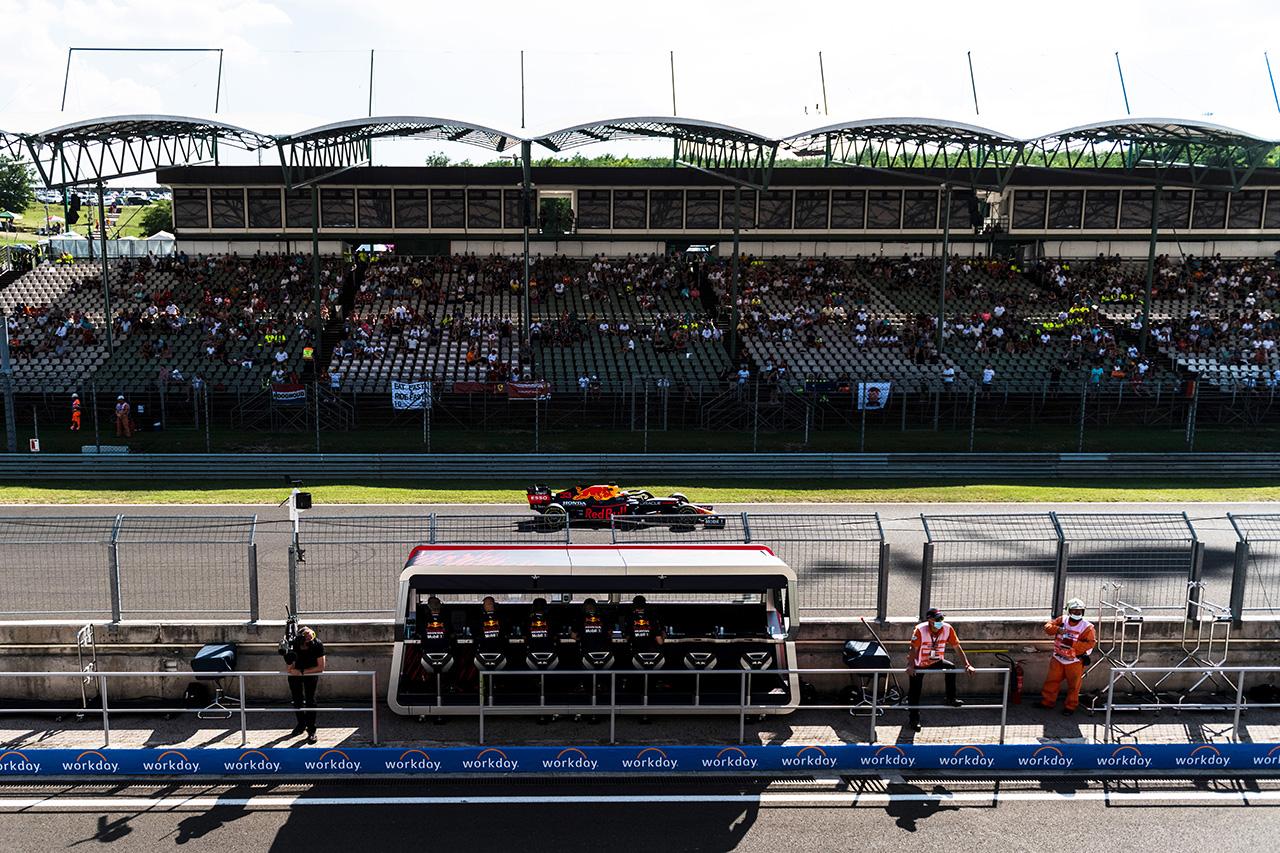 F1ハンガリーGP 予選:速報ツイート&Twitch配信