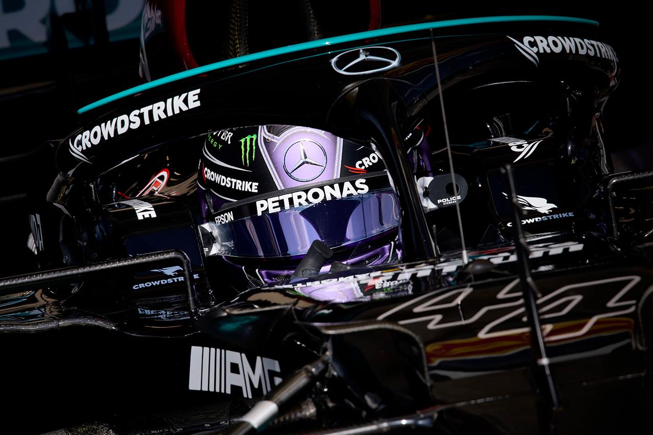 ルイス・ハミルトン 「雨を見越したセットアップにはしていない」 / メルセデス F1ハンガリーGP 金曜フリー走行