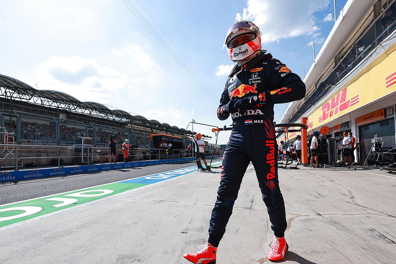 3番手タイムのマックス・フェルスタッペン 「いくつかのセットアップを試した」 / レッドブル・ホンダ F1ハンガリーGP 金曜フリー走行