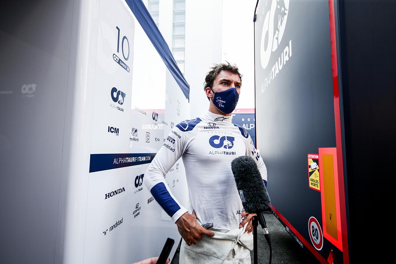ピエール・ガスリー 「マシンのペースはいい。アルピーヌはとても速そう」 / アルファタウリ・ホンダ F1ハンガリーGP 金曜フリー走行