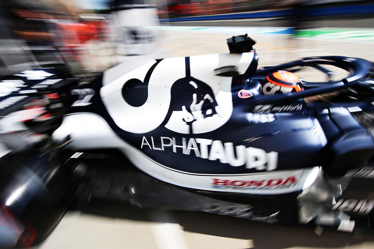 アルファタウリ・ホンダF1 「角田裕毅はFP2をロスしたことが響いた」 / F1ハンガリーGP 予選