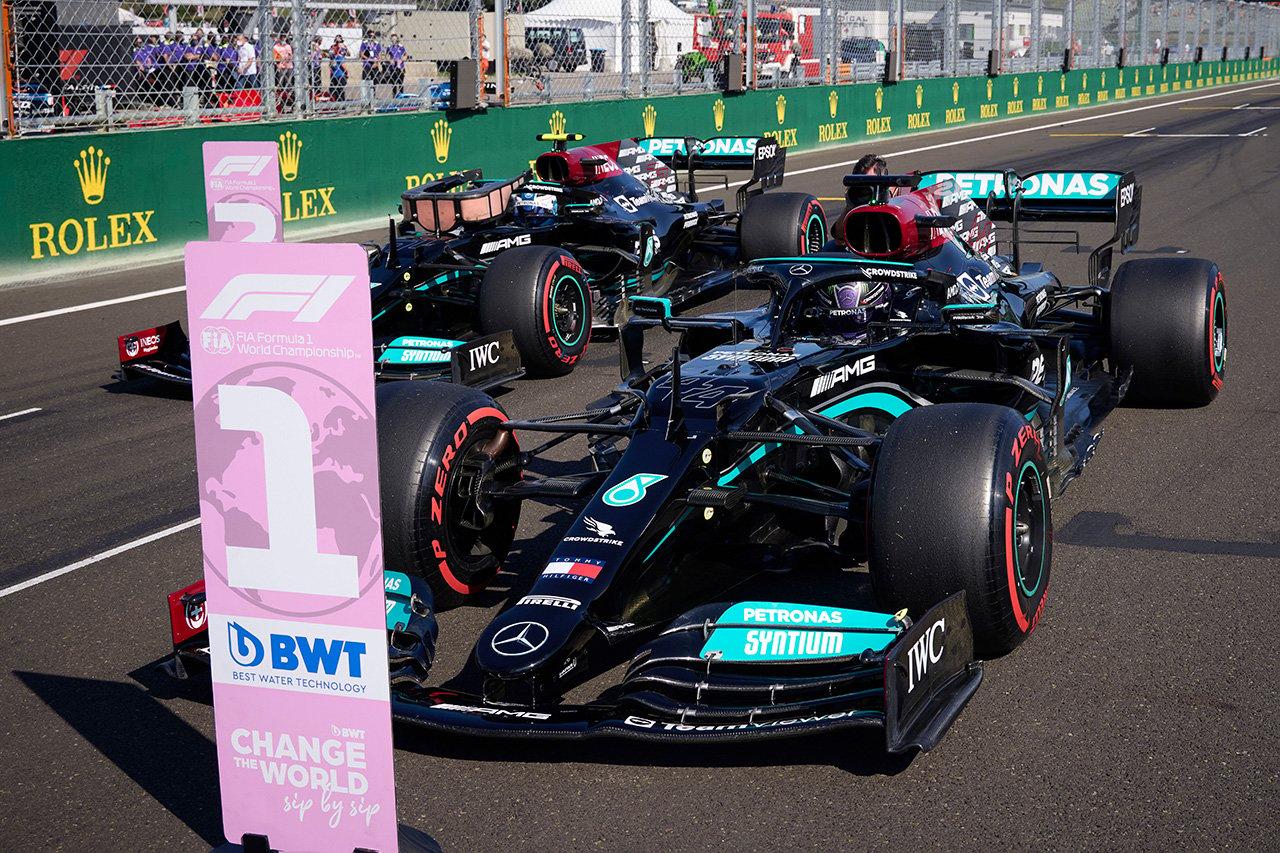 2021年 F1ハンガリーGP 決勝:スターティンググリッド