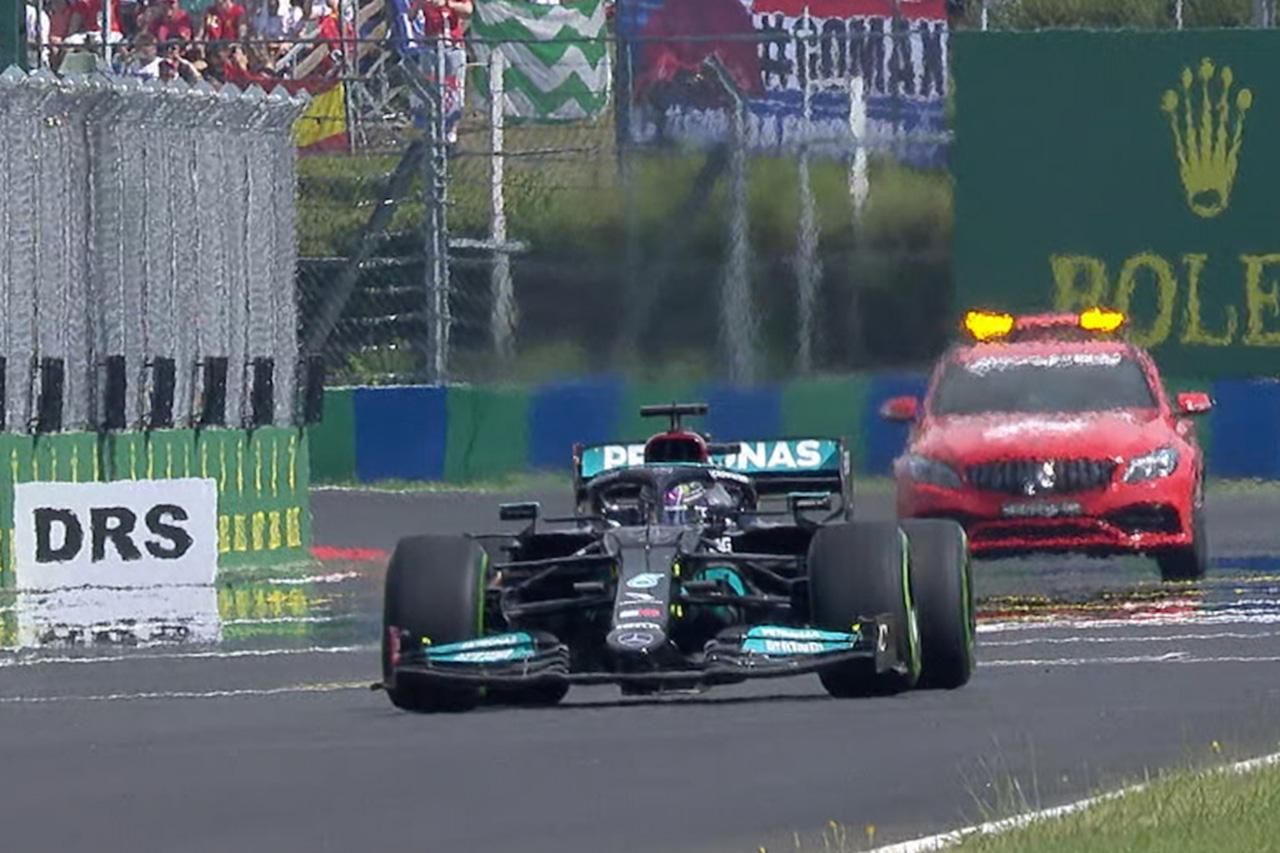 【動画】 前代未聞!ハミルトン1台だけでスタンディングスタート / F1ハンガリーGP 決勝