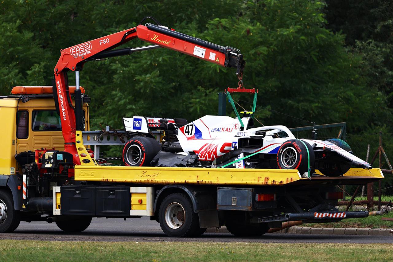 ミック・シューマッハ 「あと5~10分あれば予選に出走できた」 / ハース F1ハンガリーGP 予選