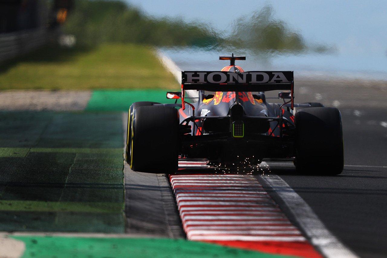レッドブル・ホンダF1、フェルスタッペンがソフトスタートの誤算 / F1ハンガリーGP 予選