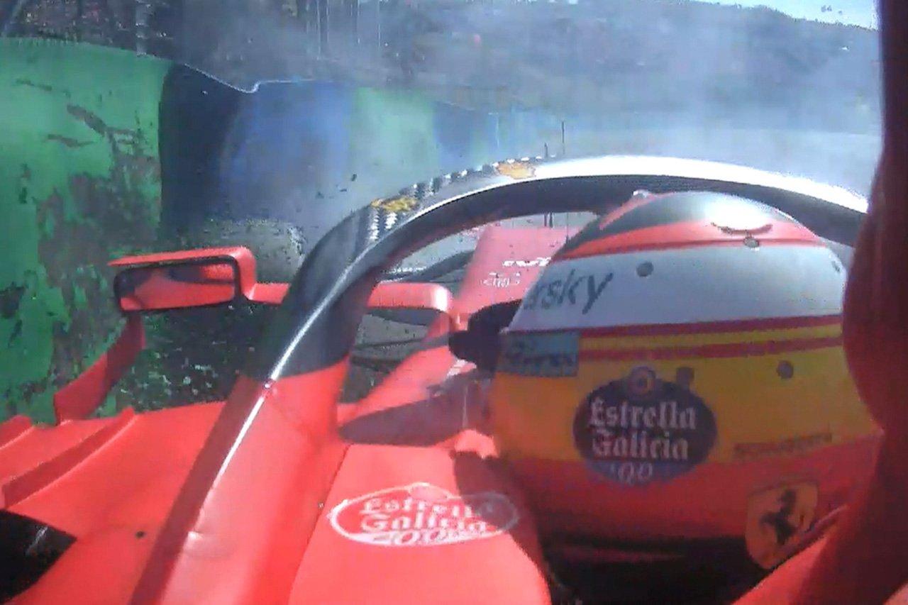 カルロス・サインツ 「突風をクラッシュの言い訳にはしたくない」 / フェラーリ F1ハンガリーGP 予選