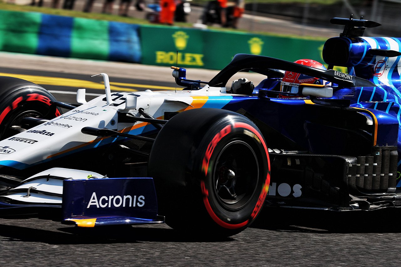 ジョージ・ラッセル、今季初のQ1敗退 「マシンに自信が持てなかった」 / ウィリアムズ F1ハンガリーGP 予選