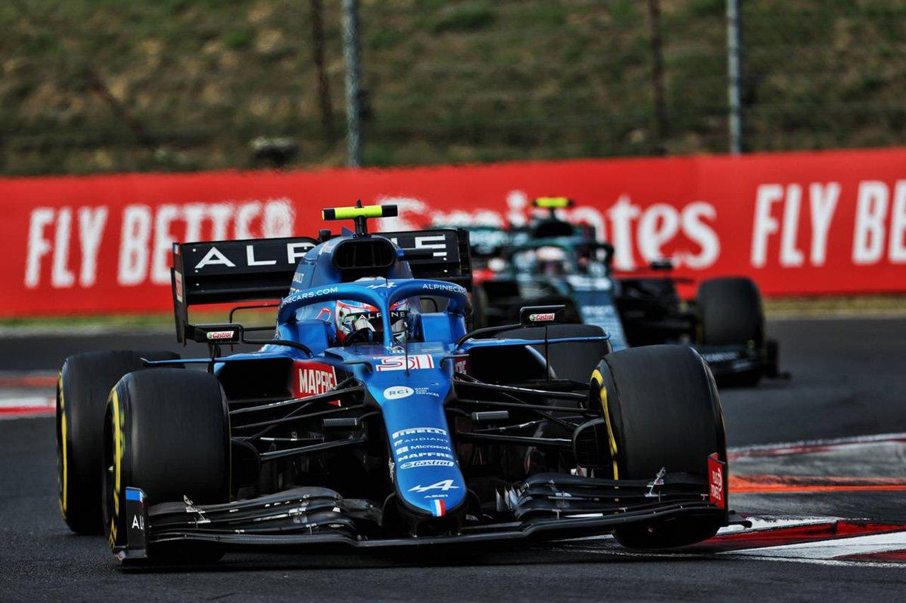 【速報】 F1ハンガリーGP 決勝 結果:エステバン・オコンがF1初優勝!