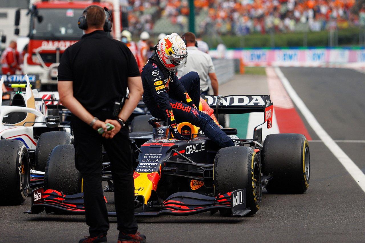 マックス・フェルスタッペン 「2週連続でのこのような形は信じられない」 / レッドブル・ホンダ F1ハンガリーGP 決勝