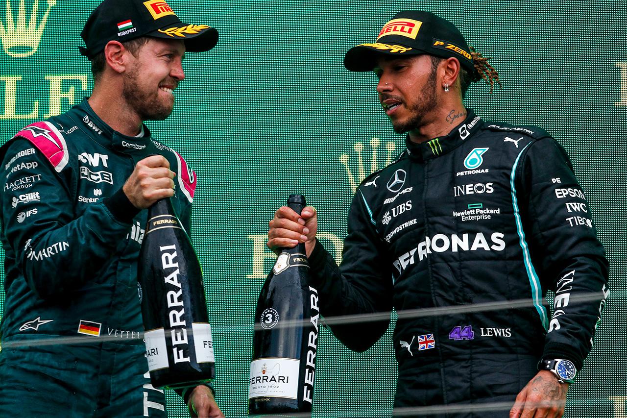 セバスチャン・ベッテル 「今日はオコンの日だった。勝利にふさわしい」 / アストンマーティン F1ハンガリーGP 決勝