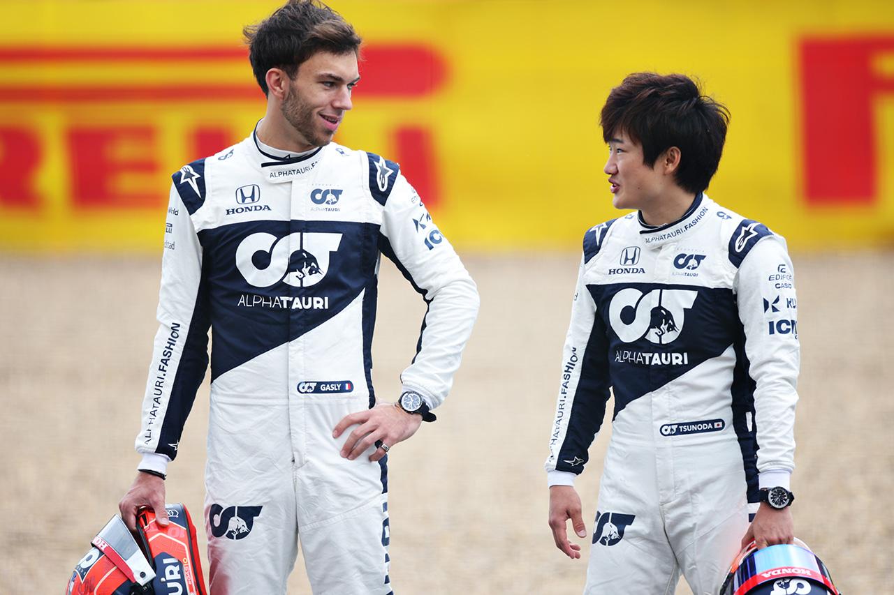 アルファタウリF1代表 「ガスリーと角田裕毅に代わるドライバーはいない」